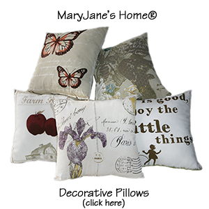 MaryJanes Home Decorative Pillows
